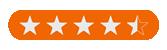 Feefo Star Rating