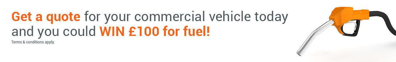 win 100 fuel banner