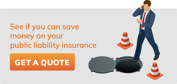 Save money on your public liability insurance